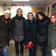 Turkish Students in Winter