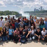 Fulbrighters 2018 at Niagara Falls